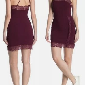 Free People Premonitions Bodycon Vetiver Bloom XS